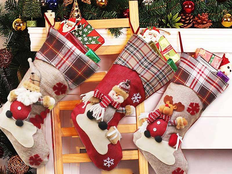 جوراب تزیینی کریسمس