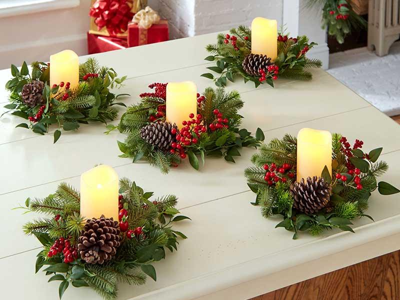 حلقه های کریسمسی