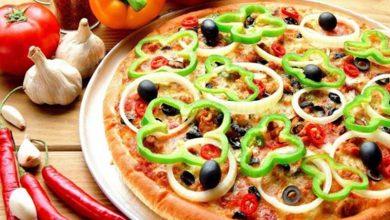 خمیر پیتزای خانگی