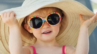 انتخاب عینک آفتابی مناسب برای کودکان