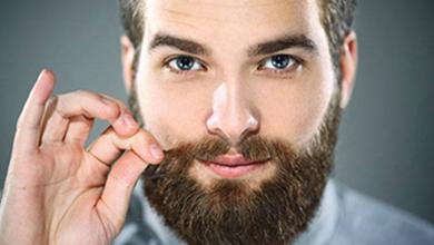 پرپشت کردن ریش و سبیل مردانه