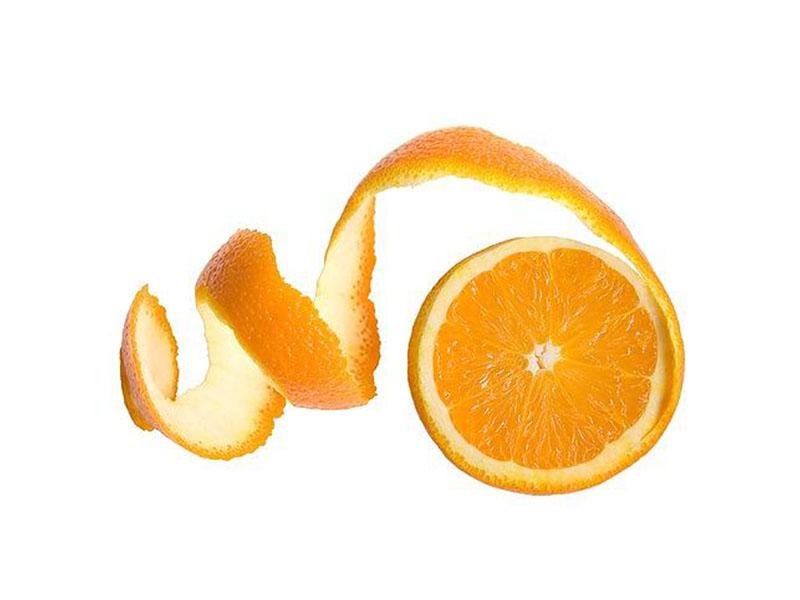 استفاده از پوست پرتقال برای پوست